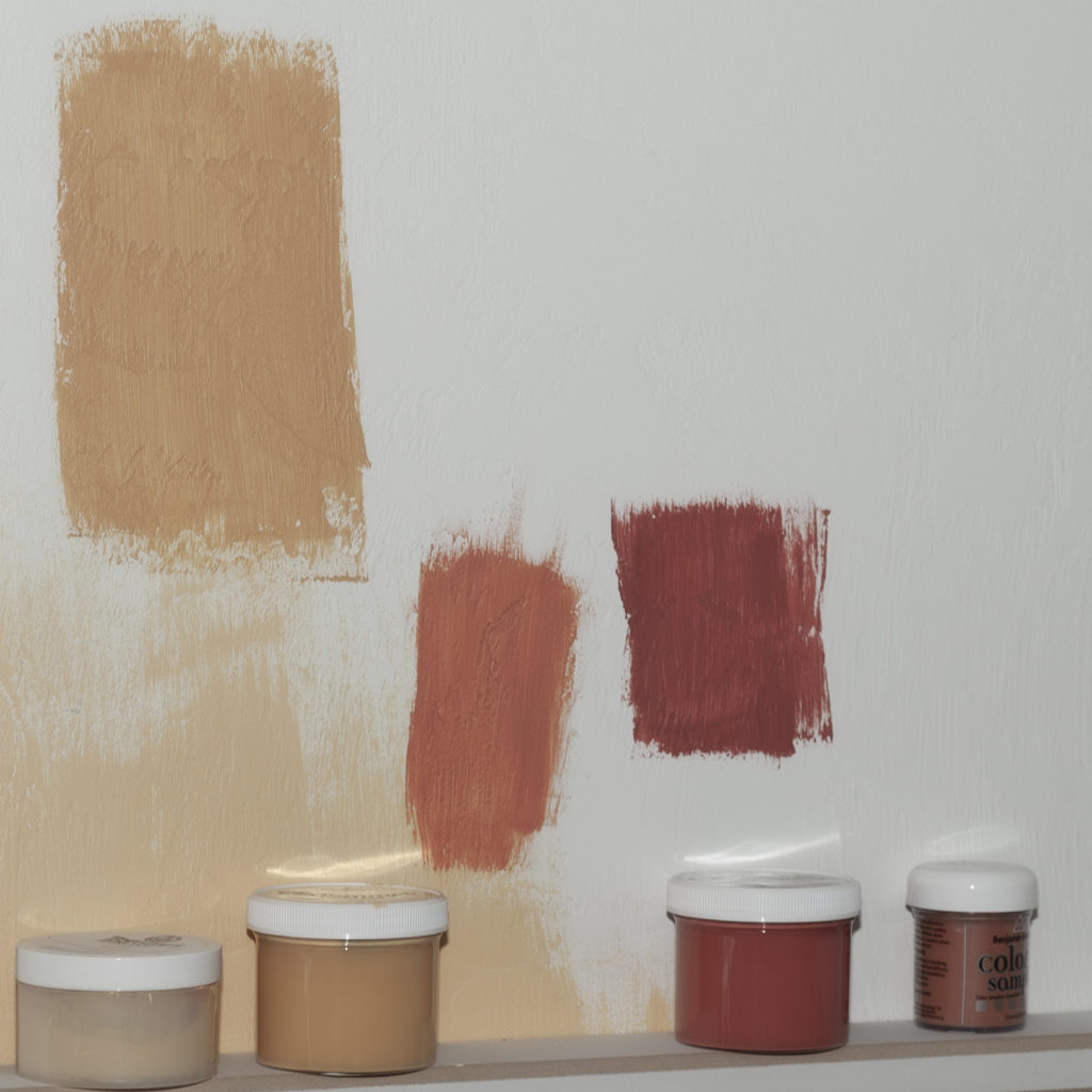 Paint samples can help home owners decide what colors to use when planning a project. Paint Doctor's Painting can help.